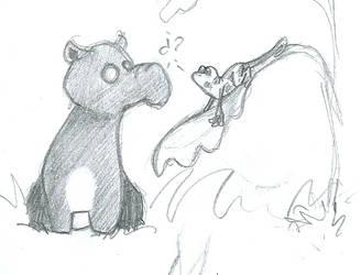 tapir's sketch by Inarigreeneyes