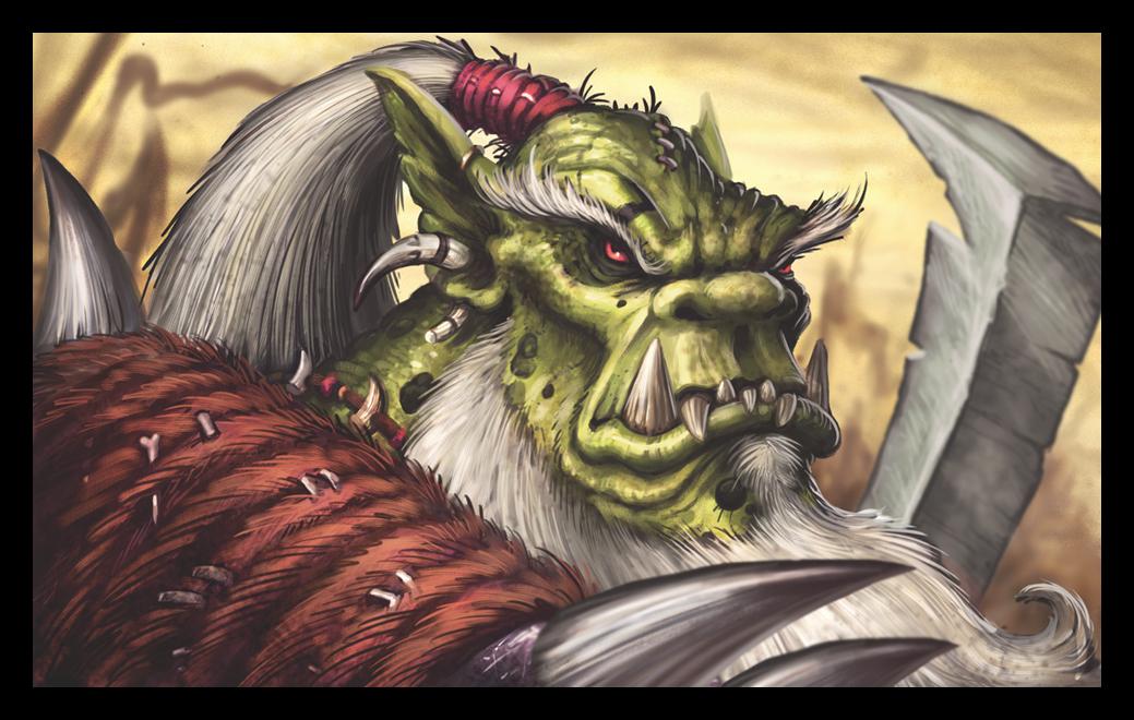 Orc Wars Art by VegasMike