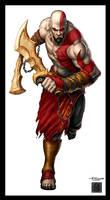 GamePro Cover: Kratos