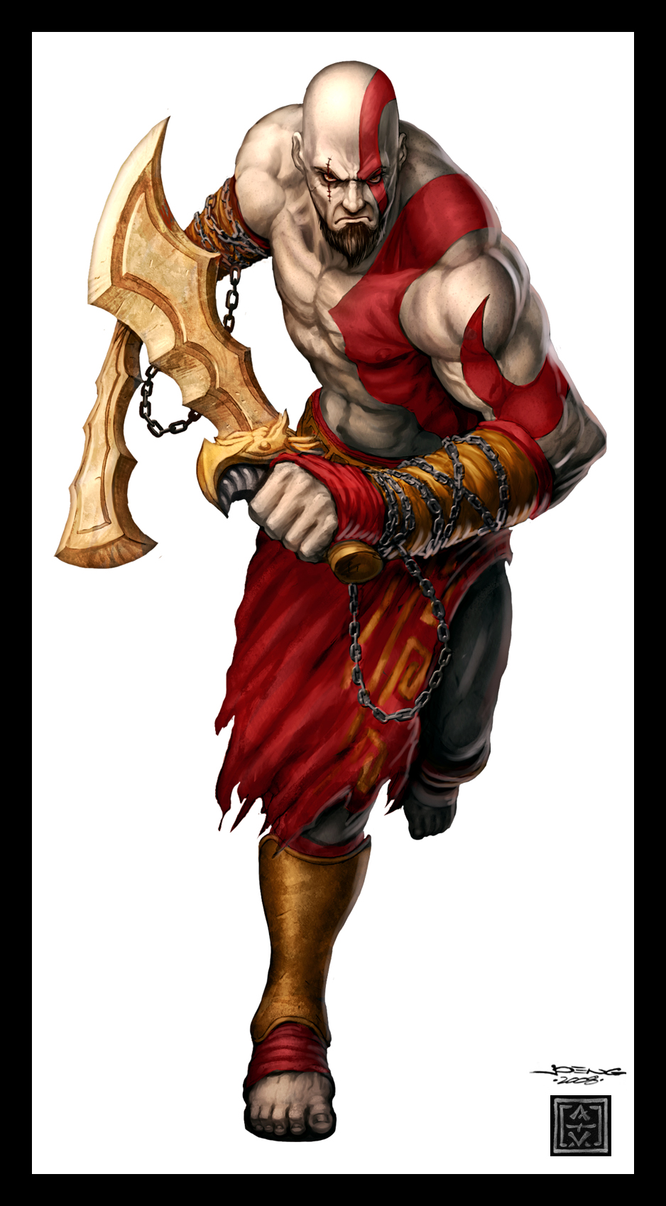 Pide tu personaje. V1 - Página 2 GamePro_Cover__Kratos_by_VegasMike