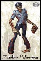 Zombie Policeman by VegasMike