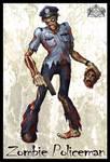 Zombie Policeman