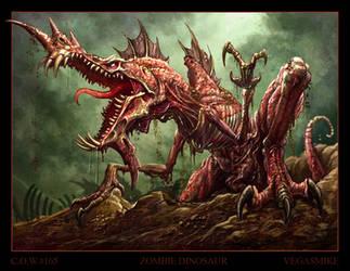 Zombie Dinosaur by VegasMike