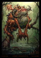 Stinky Swamp Devil by VegasMike