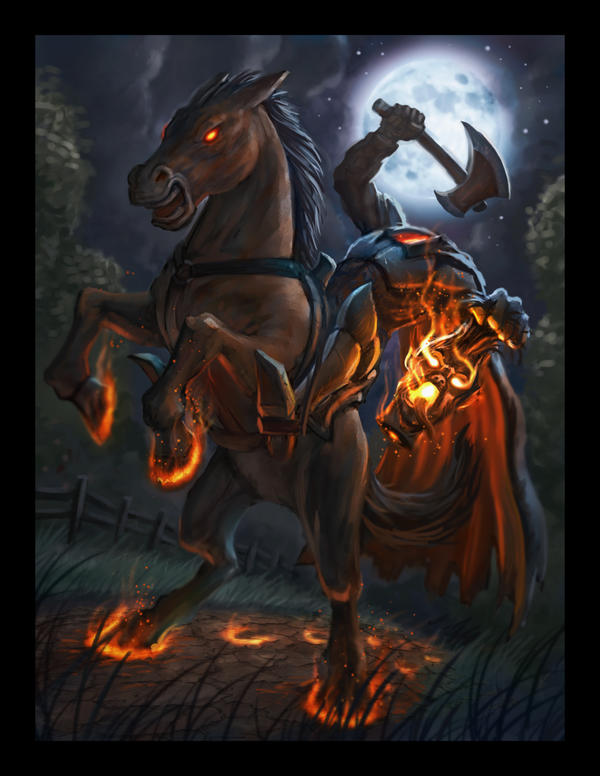 Headless Horseman by VegasMike