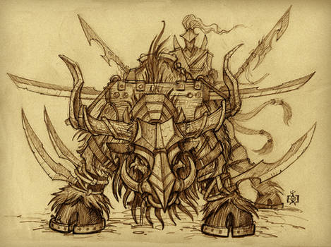 War Beast Sketch