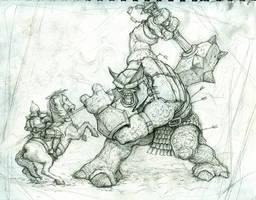 Troll Sketch by VegasMike