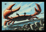 The Incredible Giant Crab