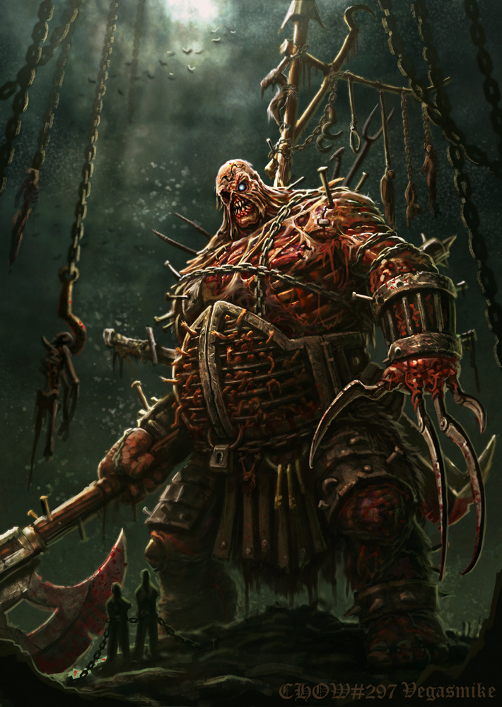 Undead Dungeon Master by VegasMike