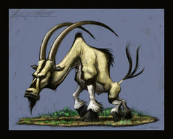 Creature Design-Alien Oryx by VegasMike