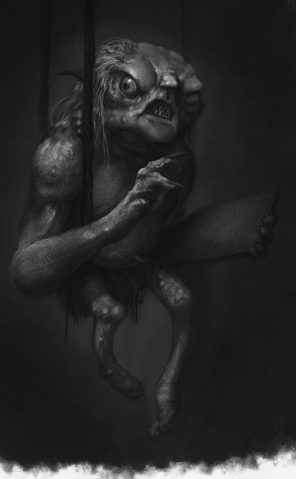 Goblin Scribe Study by VegasMike