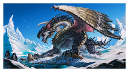 Frost Dragon by VegasMike