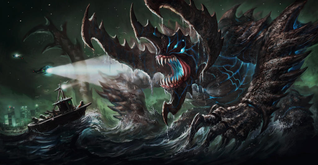 Kaiju Final by VegasMike on DeviantArt Pacific Rim Kaiju Category 4