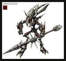 ChronoAlien's Spiky Fella by VegasMike