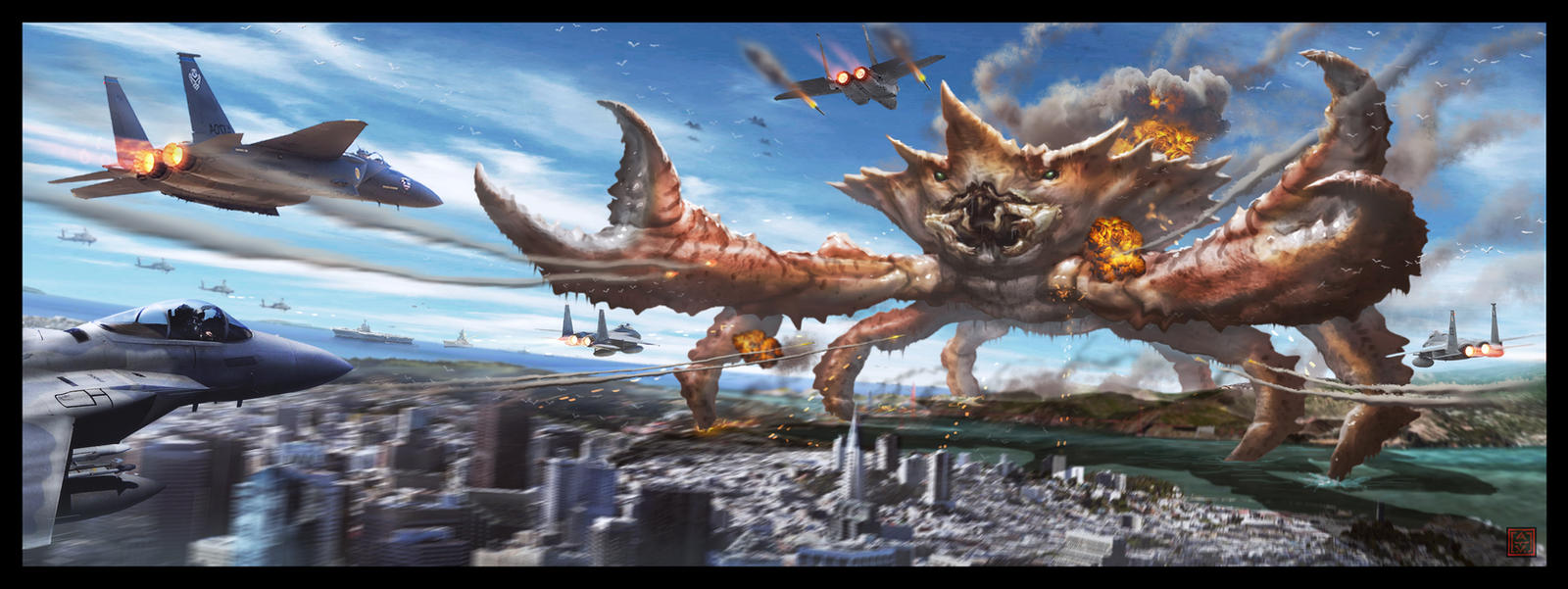 Attack of the Incredible Giant Crab!