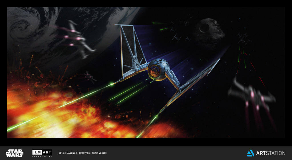 W-Wing Tie Fighter by VegasMike