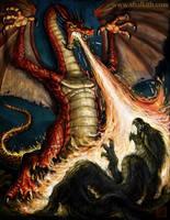Shalkith-Dragon Art by VegasMike
