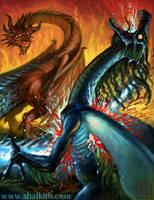 Shalkith-Dragon Art 2 by VegasMike
