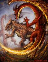 Shalktith Art: Burst Attack by VegasMike