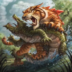 KeyForge  - Mighty Tiger