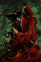 Skeleton Pirate Revisited by VegasMike