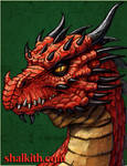 Red Dragon Four- Serpent