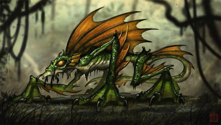 Swamp Beast by VegasMike