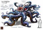 Tentacle Creature Design