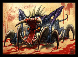 Blood Splattered Carnage by VegasMike