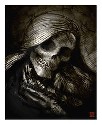 Dresden Death Portrait by VegasMike