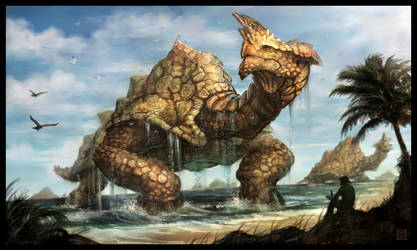 75 Ton Creature by VegasMike