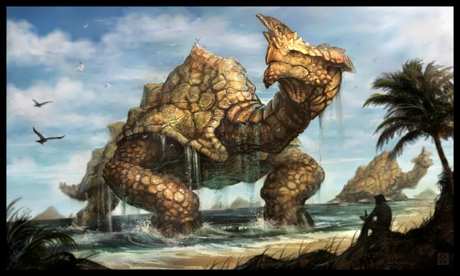 Dragon Turtle Dndbehindthescreen