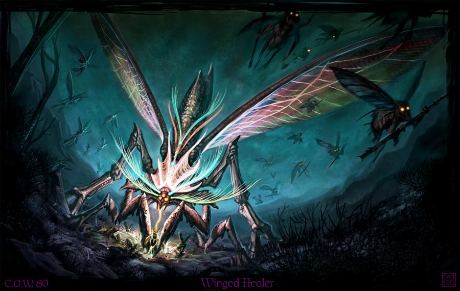 Bestiario Winged_Healer_by_VegasMike