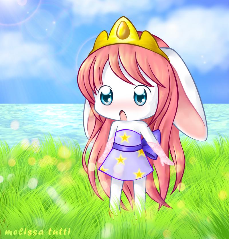 Chibi Bunny - Neopets by Menechi