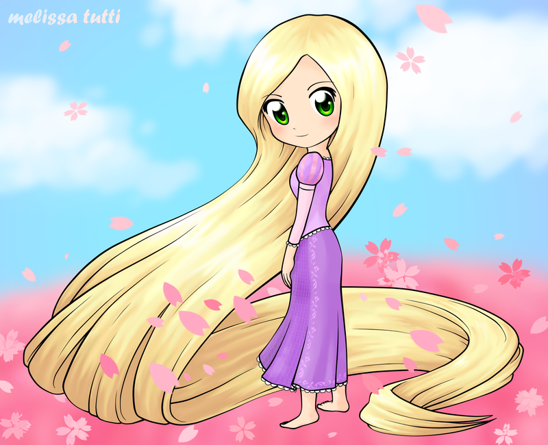 Tangled - Rapunzel by melissatutti