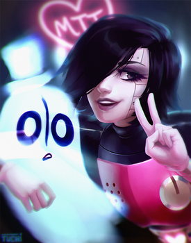 Mettaton and Napstablook