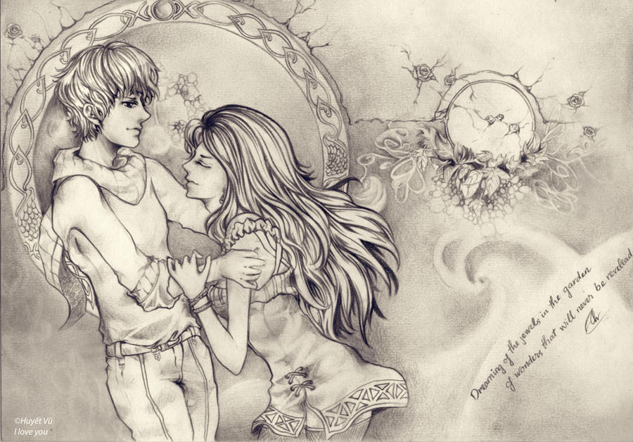 I love you by huyetvu