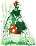 Fallen fairy by Sosak