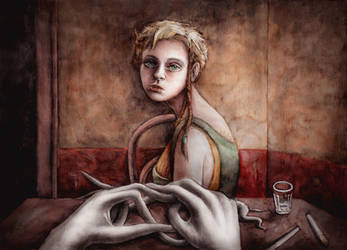 In the bar by Sosak