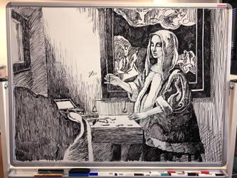 Improvisation of Vermeer