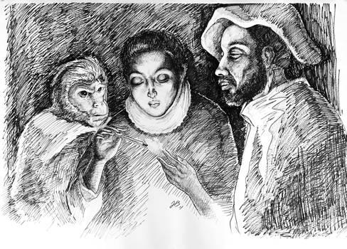 Improvisation of El Greco