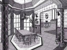 Eating room by Sosak