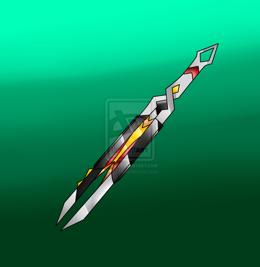 Heavy Blade Cosmic Sword Version by DragonWarrior25