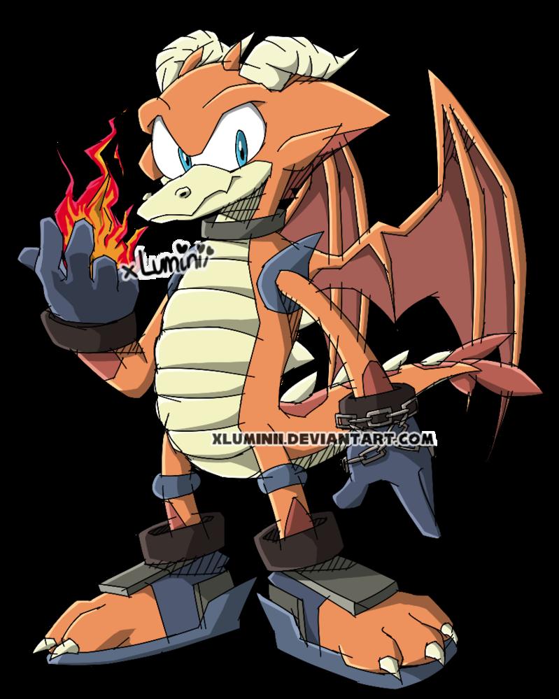 Balark The Dragon by DragonWarrior25