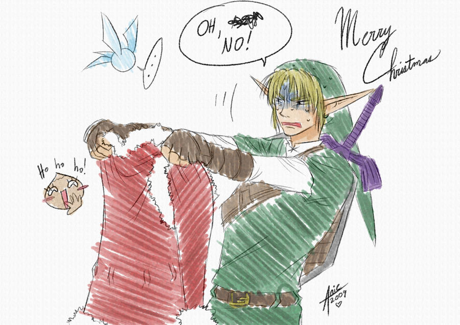 Link's Christmas - LoZ by Aniemae on DeviantArt