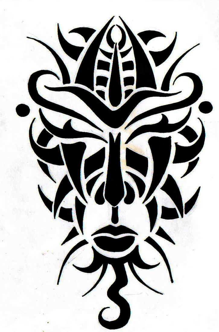 Tribal Mask South Africa By Roxenabernardi On Deviantart