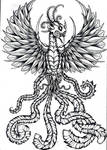 warrior phoenix bird