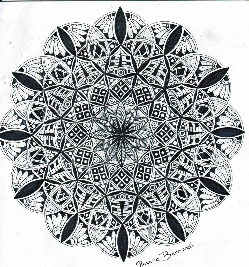 mandala energy of life by roxenabernardi on deviantart. Black Bedroom Furniture Sets. Home Design Ideas