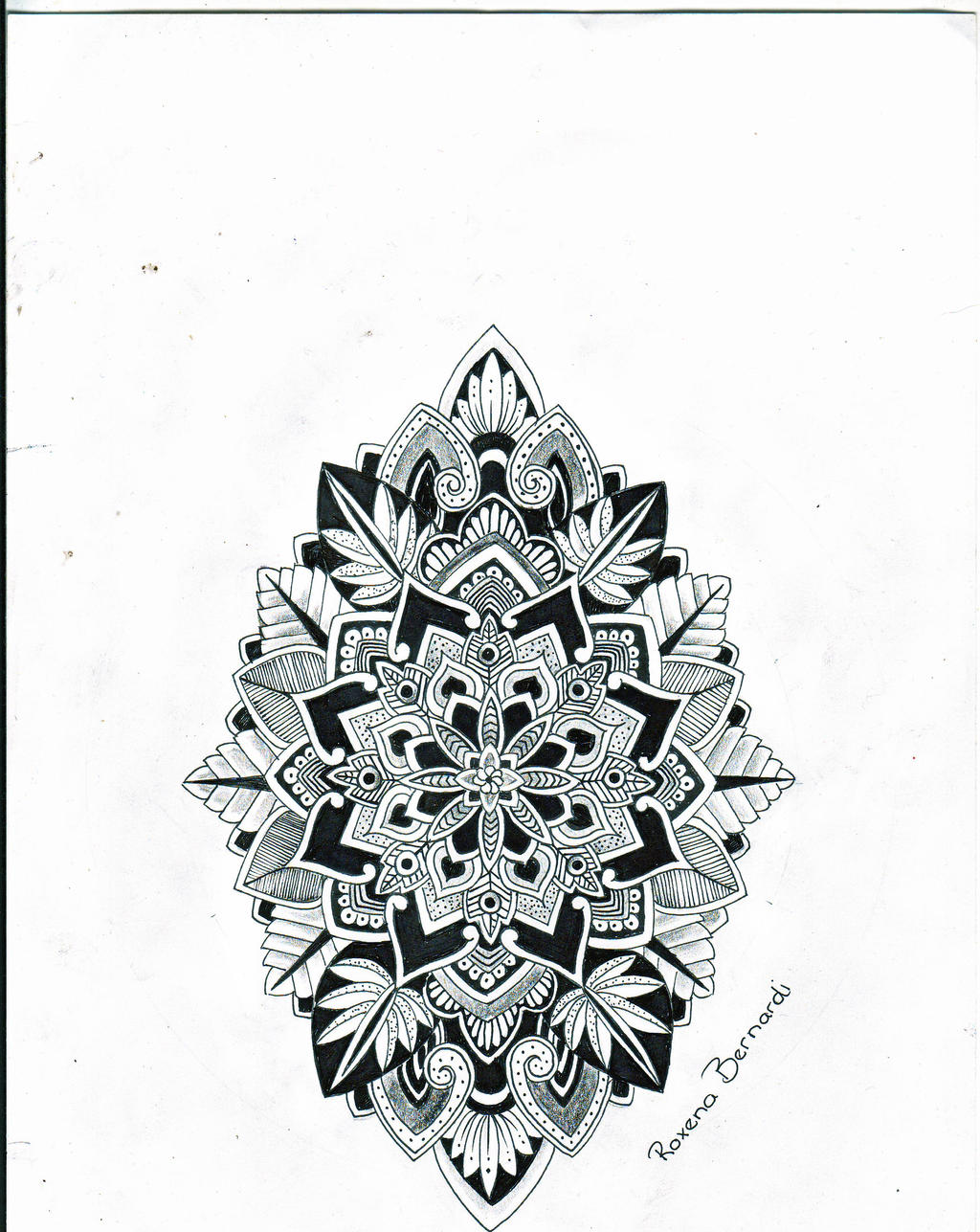 tattoo back tumblr tribal Mandala  Tattoo    Pinterest ideas