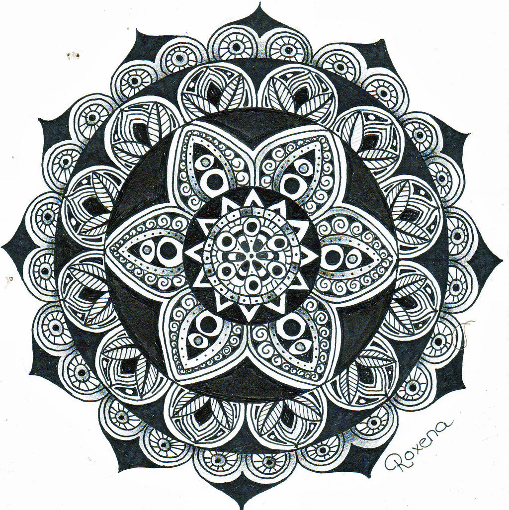 Lotus Mandala Tattoo, Lotus Mandala